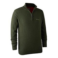 Hastings Knit Zip-neck Deerhunter