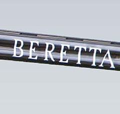 Sticker  for under & Over   Beretta . Beretta