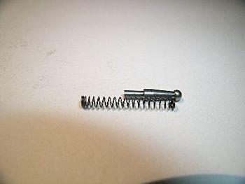 Connector Plunger in titanium plus spring ESPLOSO #170 + #167 , NOT ORIGINAL Giuliani