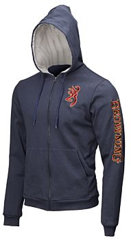 Sweatshirt Zip Snapshot Blue Browning