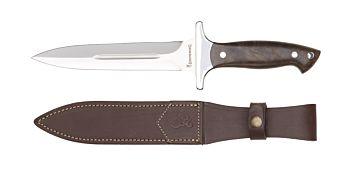 Knife Daga, Walnutwood Browning