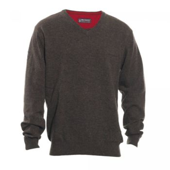 Brighton Sweater with V-Neck Deerhunter