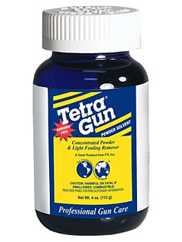 Tetra® Gun Care Introduces Ammonia-Free Powder Solvent Tetra Gun