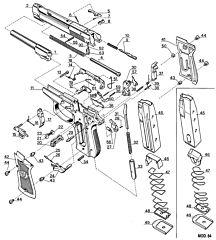 81FS 99 81FS Nickel Beretta