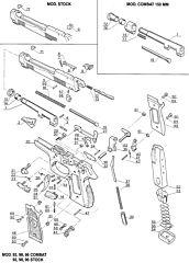 92ST00 93 D Centurion Beretta
