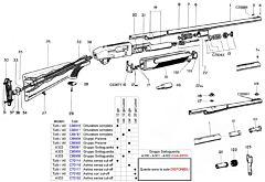 A300/1/2/3 cal20 complete Beretta