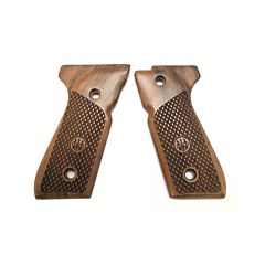Wood grips set for 92 series - Oval PRO model Beretta