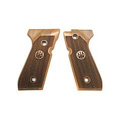 Wood grips set for 92 series - Essential Model Beretta