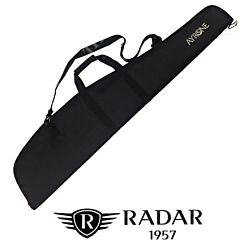 Rifle case in 600D polyester, padded and lined. Open end zip fastener. Ayrone Radar