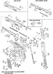 9202 92 98 Combat Beretta