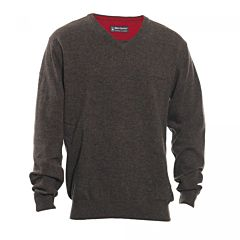 Brighton Sweater with V-Neck Deerhunter