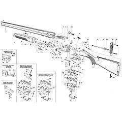 S680 Old 686 Series Heavy Frame S687 cal12 Beretta