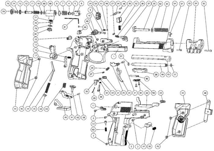33 Umarex Steel Storm Parts Diagram