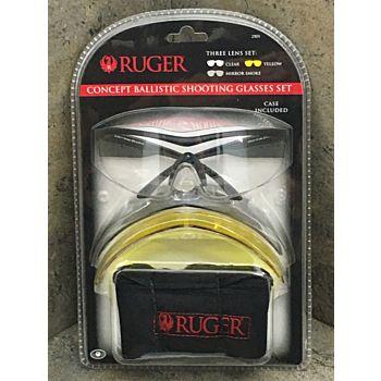 Ruger Concept Ballistic Shooting Glasses  Ruger