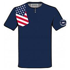 T-SHIRT  FLAG AMERICA  GORDON