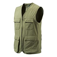 Man's Quick Dry Short Vest Green