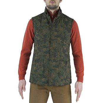 Man's Country Classic Quilted Vest Beretta
