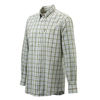 Beretta  Seersucker Travel Shirt Beretta