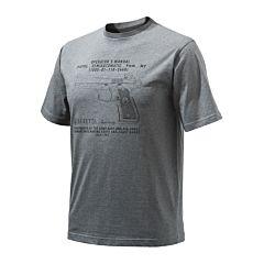 Beretta Anniversary Pistol T-shirt Beretta