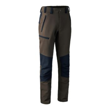 Strike Full Stretch Trousers Black and Green Deerhunter